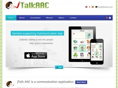 AAC APP Homepage