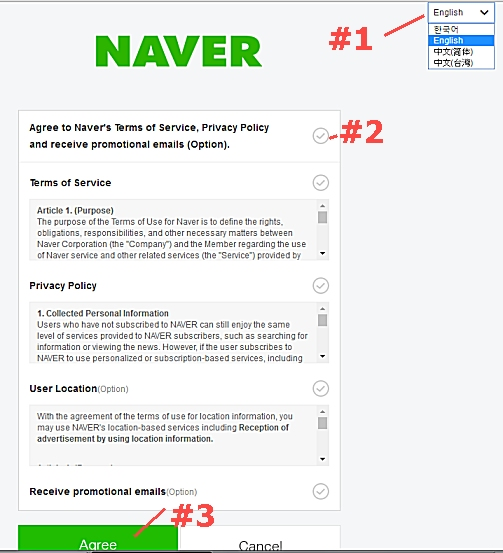 Create Naver Account